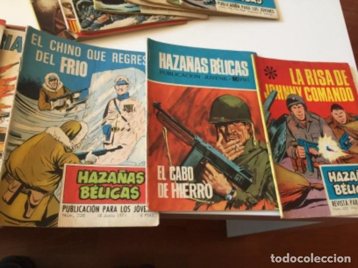 Tebeos: 19 TEBEOS COMICS HAZAÑAS BÉLICAS, RELATOS DE GUERRA , ETC AÑOS 70 - Foto 4 - 195267480