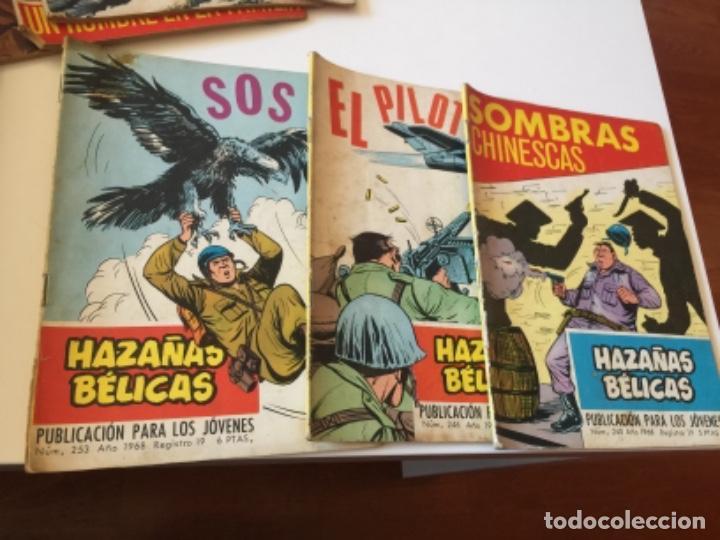 Tebeos: 19 TEBEOS COMICS HAZAÑAS BÉLICAS, RELATOS DE GUERRA , ETC AÑOS 70 - Foto 5 - 195267480