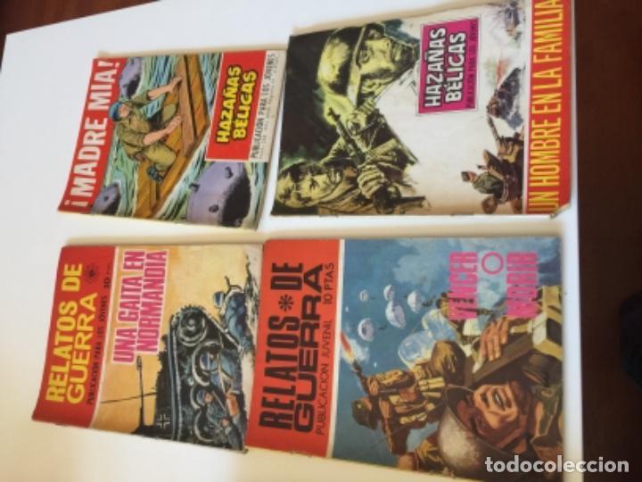 Tebeos: 19 TEBEOS COMICS HAZAÑAS BÉLICAS, RELATOS DE GUERRA , ETC AÑOS 70 - Foto 6 - 195267480
