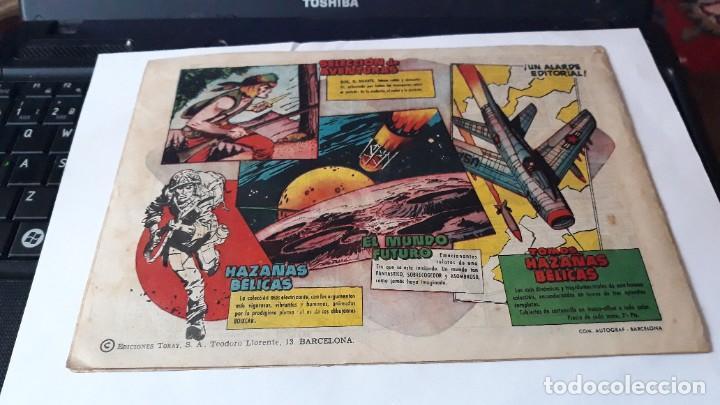 Tebeos: LOTE DE 2 COMICS MUNDO FUTURO, 51 SE HA PERDIDO UNA NAVE- 59 LA FUERZA DEL DEBIL, ORIGINAL TORAY - Foto 4 - 195299022