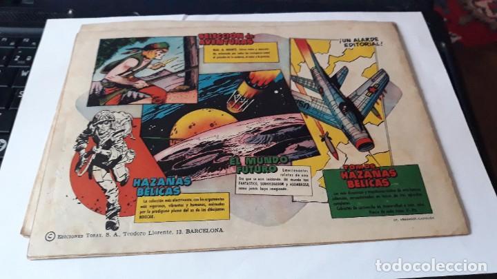 Tebeos: LOTE DE 2 COMICS MUNDO FUTURO, 51 SE HA PERDIDO UNA NAVE- 59 LA FUERZA DEL DEBIL, ORIGINAL TORAY - Foto 5 - 195299022