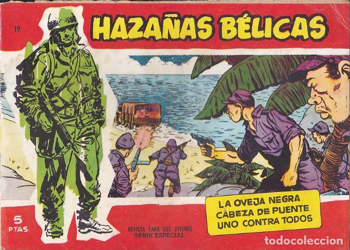 COMIC HAZAÑAS BELICAS ROJAS Nº 19 (Tebeos y Comics - Toray - Hazañas Bélicas)