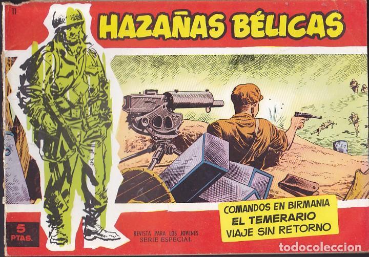 COMIC HAZAÑAS BELICAS ROJAS Nº 11 (Tebeos y Comics - Toray - Hazañas Bélicas)
