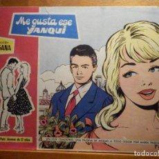Tebeos: TEBEO - COMIC - COLECCION SUSANA - Nº 48 - ME GUSTA ESE YANQUI - EDICIONES TORAY. Lote 195439746