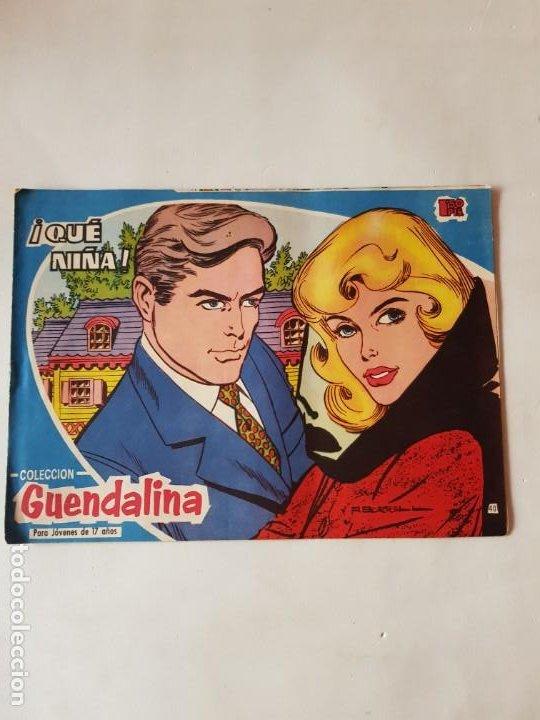 GUENDALINA Nº 40 DICIONES TORAY ESTADO NORMAL (Tebeos y Comics - Toray - Guendalina)