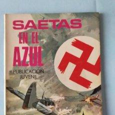 Tebeos: SAETAS EN EL AZUL - N. 93 BOIXCAR HAZAÑAS BÉLICAS - 1969. Lote 195502238