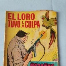 Tebeos: EL LORO TUVO LA CULPA - GORILA HAZAÑAS BÉLICAS N. 227 - 1967. Lote 195503430