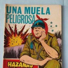 Tebeos: UNA MUELA PELIGROSA - GORILA HAZAÑAS BÉLICAS N. 254 - 1968. Lote 195503715