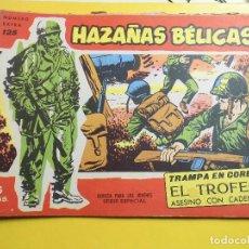 Tebeos: HAZAÑAS BELICAS EXTRA Nº 125 EDITORIAL TORAY. Lote 195518826
