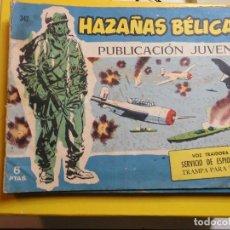 Tebeos: HAZAÑAS BELICAS Nº 342 EDITORIAL TORAY. Lote 195525687