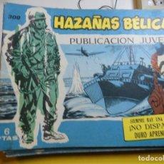 Tebeos: HAZAÑAS BELICAS Nº 300 EDITORIAL TORAY. Lote 195525745