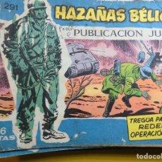 Tebeos: HAZAÑAS BELICAS Nº 291 EDITORIAL TORAY. Lote 195525831