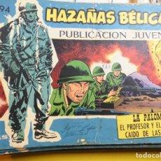 Tebeos: HAZAÑAS BELICAS Nº 294 EDITORIAL TORAY. Lote 195525891