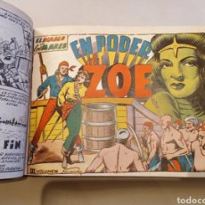 Tebeos: EL DIABLO DE LOS MARES. TORAY 1947. COLECCION COMPLETA, ENCUADERNADA EN 2 TOMOS.. Lote 195648882