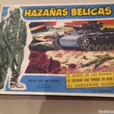 Tebeos: HAZAÑAS BELICAS. NUMEROS DEL 121 AL 128 .ENCUADERNADO .. Lote 195654041