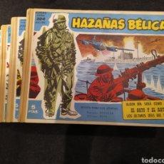 Tebeos: HAZAÑAS BELICAS. 4 TOMOS NUMEROS DEL 200 AL 231 .ENCUADERNADO .. Lote 195655521