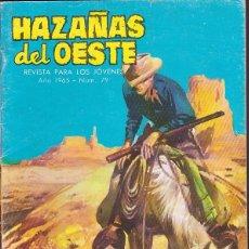 Tebeos: COMIC HAZAÑAS DEL OESTE Nº 79. Lote 195702162