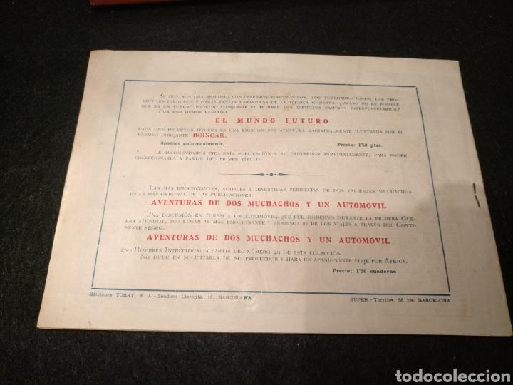 Tebeos: El mundo futuro, toray original años 50, lote 35numeros, dibujante boixCar. - Foto 2 - 195781191