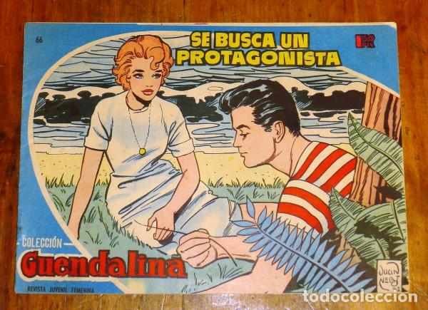 COLECCIÓN GUENDALINA. Nº 66 : SE BUSCA UN PROTAGONISTA (Tebeos y Comics - Toray - Guendalina)