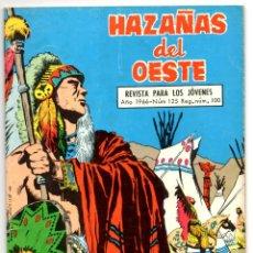 Tebeos: HAZAÑAS DEL OESTE Nº 125 (TORAY 1966). Lote 195960750