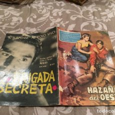Tebeos: HAZAÑAS DEL OESTE Nº 17 ORO ENSANGRENTADO - EDITORIAL TORAY 1959. Lote 195996322
