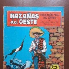 Tebeos: HAZAÑAS DEL OESTE - Nº 179 - 1968. Lote 196007002