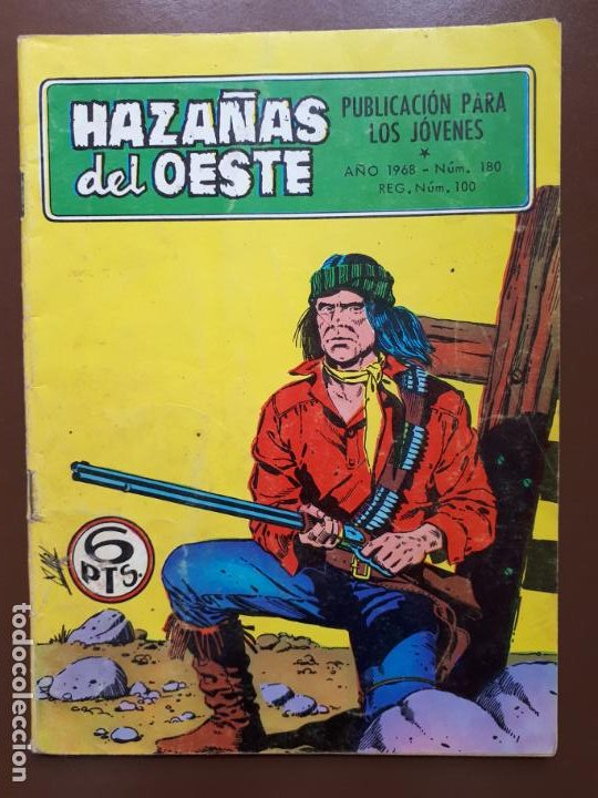 HAZAÑAS DEL OESTE - Nº 180 - 1968 (Tebeos y Comics - Toray - Hazañas del Oeste)