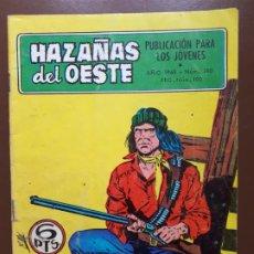 Tebeos: HAZAÑAS DEL OESTE - Nº 180 - 1968. Lote 196007105
