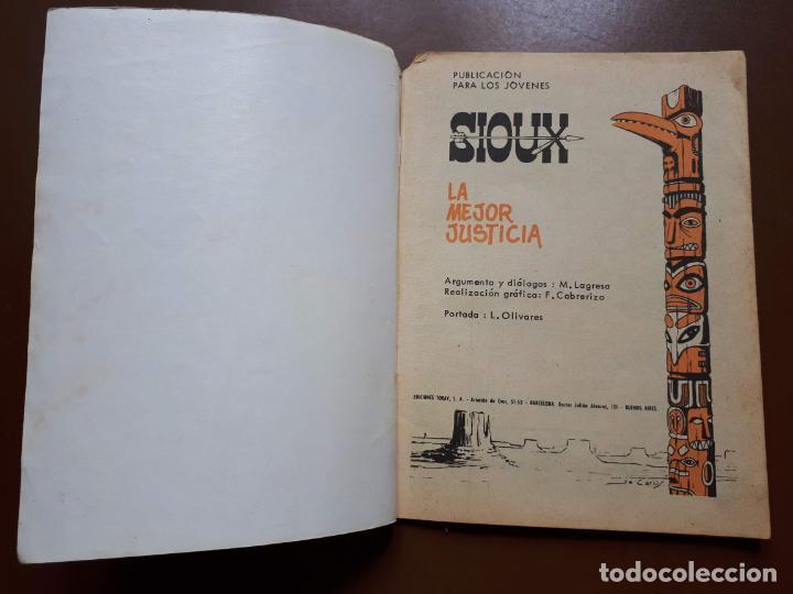 Tebeos: Sioux - Nº 98 - La mejor justicia - 1968 - Foto 2 - 196007517