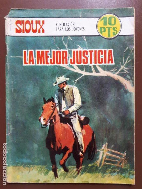 SIOUX - Nº 98 - LA MEJOR JUSTICIA - 1968 (Tebeos y Comics - Toray - Sioux)