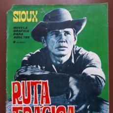 Tebeos: SIOUX - Nº 40 - LA MEJOR JUSTICIA - 1965. Lote 196007713