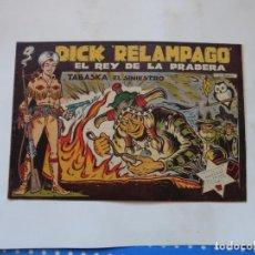 Tebeos: DICK RELAMPAGO Nº 4 ORIGINAL TORAY. Lote 196174920