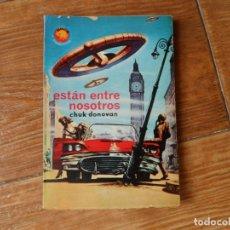 Tebeos: ESPACIO. EL MUNDO FUTURO. AUTOR: CHUK DONOVAN. Nº 389 ESTÁN ENTRE NOSOTROS . Lote 196191796
