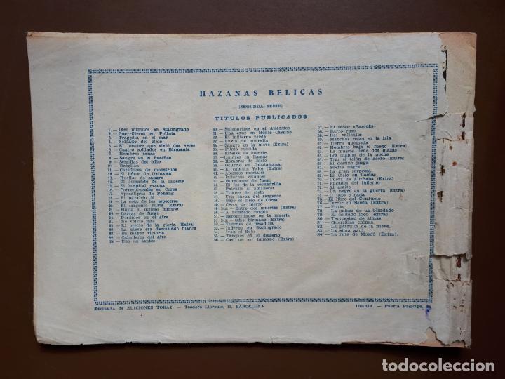 Tebeos: Hazañas Bélicas - Nº84 - La Ruta de Moscú - Toray - 1953 - Foto 5 - 196193497