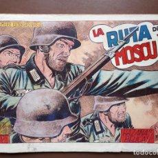 Tebeos: HAZAÑAS BÉLICAS - Nº84 - LA RUTA DE MOSCÚ - TORAY - 1953. Lote 196193497