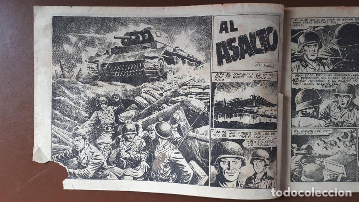 Tebeos: Hazañas Bélicas - Nº72 - ¡Al Asalto! - Toray - 1953 - Foto 2 - 196194111