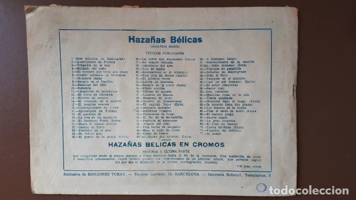 Tebeos: Hazañas Bélicas - Nº72 - ¡Al Asalto! - Toray - 1953 - Foto 4 - 196194111