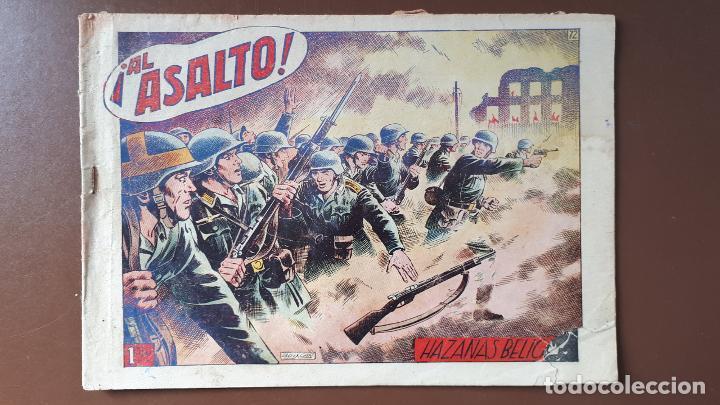 HAZAÑAS BÉLICAS - Nº72 - ¡AL ASALTO! - TORAY - 1953 (Tebeos y Comics - Toray - Hazañas Bélicas)