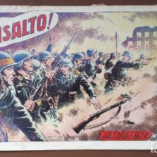 Tebeos: HAZAÑAS BÉLICAS - Nº72 - ¡AL ASALTO! - TORAY - 1953. Lote 196194111