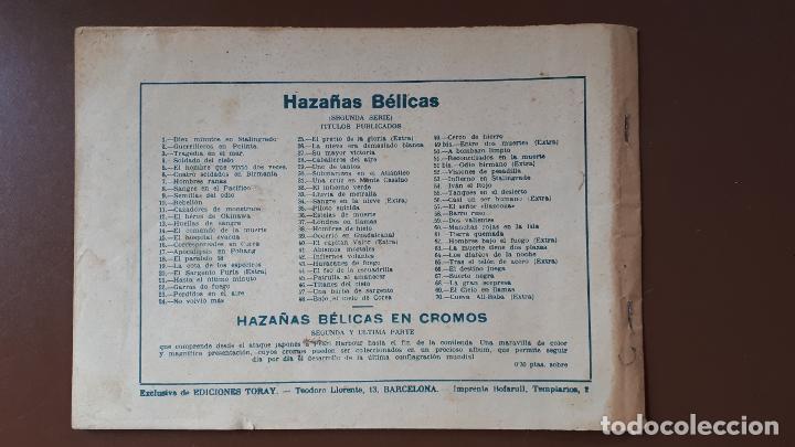 Tebeos: Hazañas Bélicas - Nº70 - La cueva de Ali-Babá - Toray - 1953 - Foto 6 - 196194665