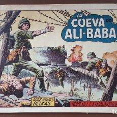 Tebeos: HAZAÑAS BÉLICAS - Nº70 - LA CUEVA DE ALI-BABÁ - TORAY - 1953. Lote 196194665