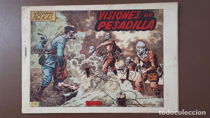 HAZAÑAS BÉLICAS - Nº52 - VISIONES DE PESADILLA - TORAY - 1952 (Tebeos y Comics - Toray - Hazañas Bélicas)