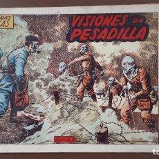Tebeos: HAZAÑAS BÉLICAS - Nº52 - VISIONES DE PESADILLA - TORAY - 1952. Lote 196196791