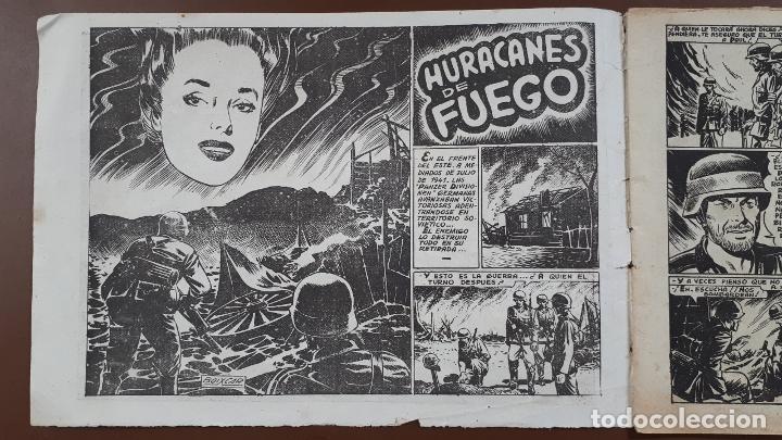 Tebeos: Hazañas Bélicas - Nº43 - huracanes de fuego - Toray - 1951 - Foto 2 - 196197187