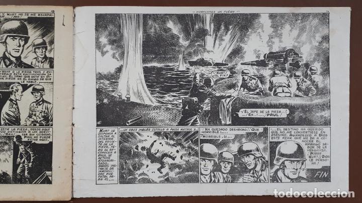 Tebeos: Hazañas Bélicas - Nº43 - huracanes de fuego - Toray - 1951 - Foto 4 - 196197187