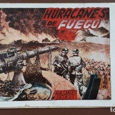 Tebeos: HAZAÑAS BÉLICAS - Nº43 - HURACANES DE FUEGO - TORAY - 1951. Lote 196197187