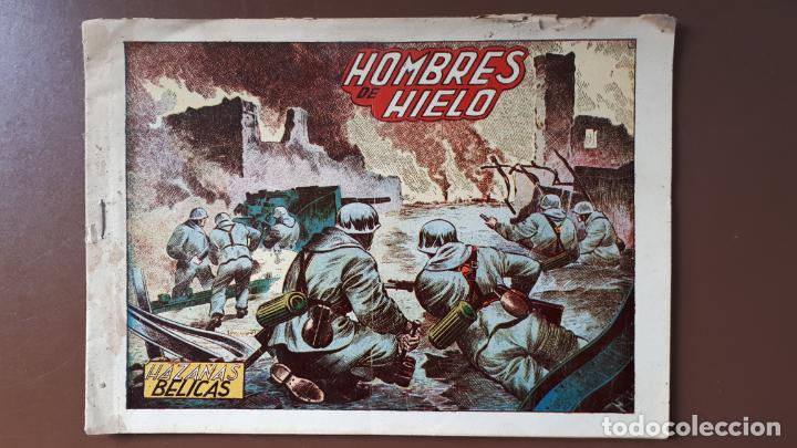 HAZAÑAS BÉLICAS - Nº38 - HOMBRES DE HIELO - TORAY - 1951 (Tebeos y Comics - Toray - Hazañas Bélicas)