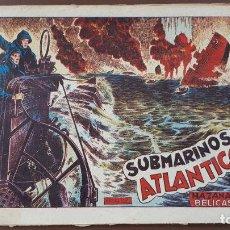 Tebeos: HAZAÑAS BÉLICAS - Nº30 -SUBMARINOS EN EL ATLÁNTICO - TORAY - 1951. Lote 196198360