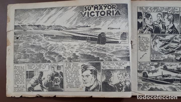 Tebeos: Hazañas Bélicas - Nº27 - Su mayor victoria - Toray - 1951 - Foto 2 - 196198743