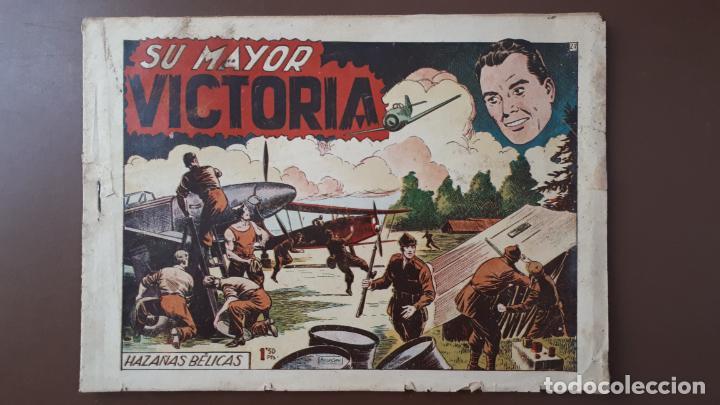 HAZAÑAS BÉLICAS - Nº27 - SU MAYOR VICTORIA - TORAY - 1951 (Tebeos y Comics - Toray - Hazañas Bélicas)